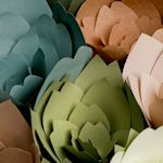 50+ paper flower tutorials & templates - all free at weddingfriends.co.za