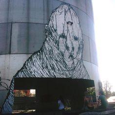 Brome - Narnia: graffiti sul silos