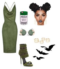"""""""Untitled #276"""" by sherie-lover ❤ liked on Polyvore featuring Giuseppe Zanotti, Topshop, Spitfire, Brooks Brothers and Lime Crime"""