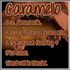 Caramello ViSalus Recipe