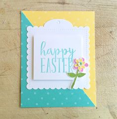 Lindsey @ Occasional Crafting: 12 Kits of Occasions - March March 12th, Happy Easter, Crafting, Kit, Frame, Flowers, Cards, Inspiration, Happy Easter Day