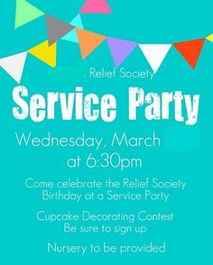Service party idea