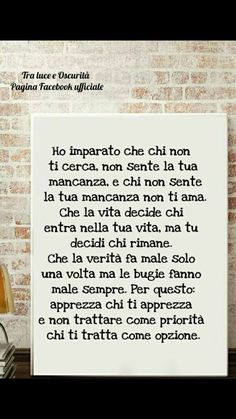Peace Quotes, Life Quotes, Neurone, Motivational Quotes, Inspirational Quotes, Italian Quotes, Healthy Words, Special Words, Meaningful Quotes
