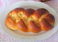saboreando a vida: Pão Challah + Uma cestinha para as guloseimas de Páscoa