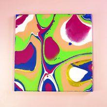 Spring Pastel Paint Pouring Art Cool Art Projects Art Projects Easy Art Projects