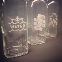 LASER CUT STUDIO - water bottle etching