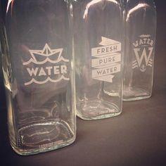 LASER CUT STUDIO - water bottle etching