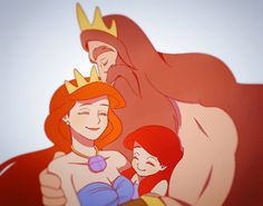 Discovered by Mary Lorelei♥. Find images and videos about love, disney and ariel on We Heart It - the app to get lost in what you love. Disney Pixar, Arte Disney, Disney Fan Art, Disney And Dreamworks, Disney Animation, Disney Magic, Disney Movies, Princesa Ariel Disney, Disney Princess Ariel