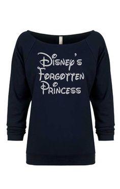 Disney+est+oublié+Sweatshirt.Glitter+par+diamondgirlfashion+sur+Etsy