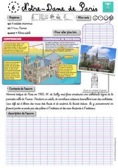 Blog genialissime!! un tas de decouverte de page en page! Edm, Cycle 3, Foto Paris, Chateau Moyen Age, French Resources, French Class, Paris Art, Kids Reading, Learn French