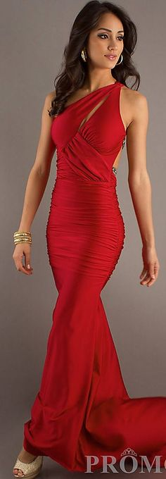 Sexy Long One Shoulder Dress by Atria ♥✤ | Keep the Glamour | BeStayBeautiful