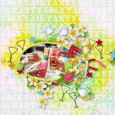 Scrap, Summer, Painting, Collection, Design, Art, Summer Time, Tat, Painting Art