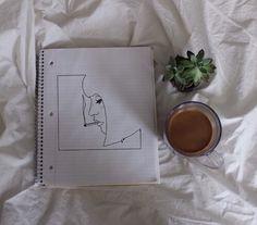 soulmate24.com Photo #drawling #coffee #plant #nature #art