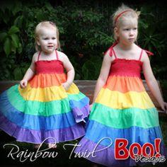 Rainbow Twirl   YouCanMakeThis.com