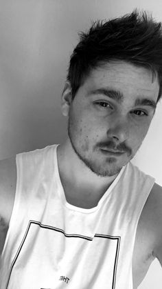 Black and white.. I need to smile more.