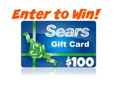 #Giveaway: $100 Sears Gift Card