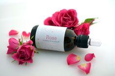 Huile d'argan à la Rose 50ml. Huile d'argan où toute la magie de la rose opère, c'est le chouchou de la cosmétique par excellence.  38€