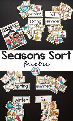 Seasons Sort Printable!