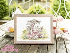 Somebunny to Love Pretty as a Princess The World of Cross Stitching Issue 232 September 2015 Hardcopy in Folder