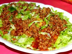Stir fry minced beef Brussels sprout