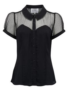 Classic Florence Blouse vintage inspired www.RocknRomance.co.uk