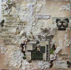 Heike`s AugenBlick: Layout     Schmetterling
