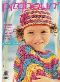 Crochet For Kids, Knit Crochet, Crochet Hats, Crochet Sweaters, Knitting Magazine, Crochet Magazine, Baby Knitting, Pattern, Toddlers
