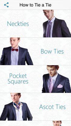 How to Tie a Tie   Novii