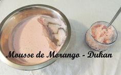 Dieta Dukan: Receita Mousse de Morango  - Fase de ataque