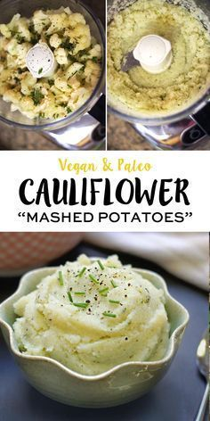 This mashed cauliflower recipe tastes so much like mashed potatoes, but is low-carb for those who need a less starchy option. You can spice them up however you like for a creamy and healthy Thanksgiving side dish!