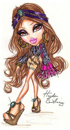 Bratz 'Style It!' Yasmin by Hayden Williams. by Fashion_Luva, via Flickr