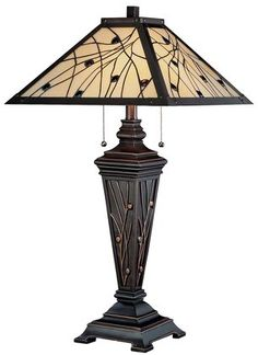 Lite Source, Inc. Remus Table Lamp, Bronze