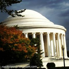 Thomas Jefferson Memorial in Washington D.C. Travel Blogger account on what to do in Washington D.C http://roadtripswithmymom.com/2015/01/washington-d-c-day-2/