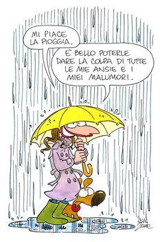 E diamo la colpa alla pioggia allora!!!