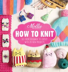 Mollie Makes How to Knit craft book