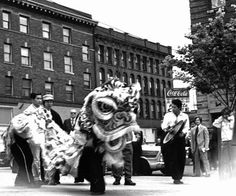 Old Seattle Lion Dance archives.