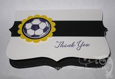 Gift Cards are the bomb as gifts for soccer coaches!  Personalize on with this Gift Card Holder for Soccer Coach! | StampinWithJacque.com