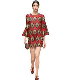 Spring Summer 2015 Lookbook|NET-A-PORTER.COM- Dolce & Gabbana