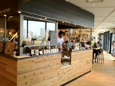 Be A Good Neighbour Coffee Kiosk in Tokyo Sky Tree, Tokyo Japan. Great coffee and location.