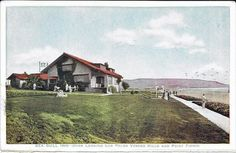 A very early 1900's Sea gull Inn postcard of Clifton by the Sea area of Redondo Beach. This Inn is long long gone.
