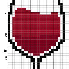 Colors Of Wine Cross Stitch Pattern