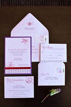 24 best purple wedding invitations images on pinterest purple