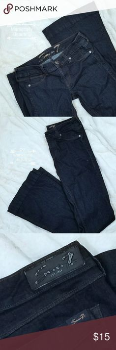 Seven Jeans Seven jeans  Flaws noted above 41.5 in length Size 27 Seven7 Jeans Flare & Wide Leg