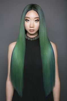 199 Best Green Hair Inspiration images  f662cc39e15
