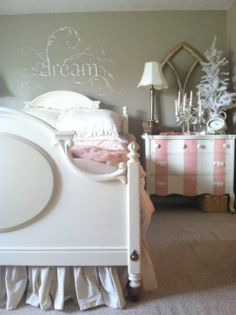 Cindy's fractured fairy tale: Pink Stripes with Old White and Scandinavian Pink.
