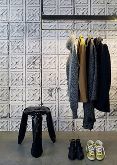Buy online in Australia Brooklyn Tins 04 Wallpaper by NLXL/Merci. A stunning digital image of pressed metal. These popular pressed tin wallpaper designs can be placed on ceilings and/or walls. Colourfast and washable Roll: 10m x 48.7cm Non-woven backing.