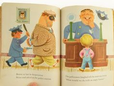 "From ""Little Benny wanted a Pony"" by Oliver O'Connor Barrett and Pictures by Richard Scarry"