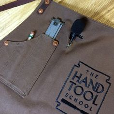 """I started using a shop apron about 5 years ago. I'm not sure what prompted me to first put one on, but I very quickly came to rely on it. I stopped losing pencils and my little 6"""" ruler, and my dust collector remote control was always within reach. Over"""