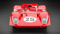 1/18 CMC Modellauto Ferrari 312P Spyder Sebring 1969