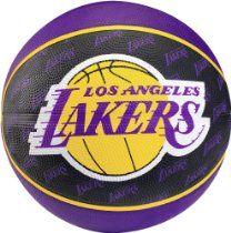 Spalding Team Ball L.A. Lakers Basketball Basketball Store 856557e8e25